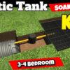 3-4 Bedroom Septic Tank Soakaway Kit