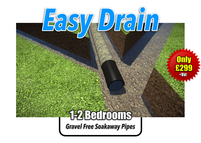 Easy Drain Soakaway Kit 1-2 Bedroom