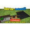 Septic Tank Soakaway Kit 7-8 Bedroom