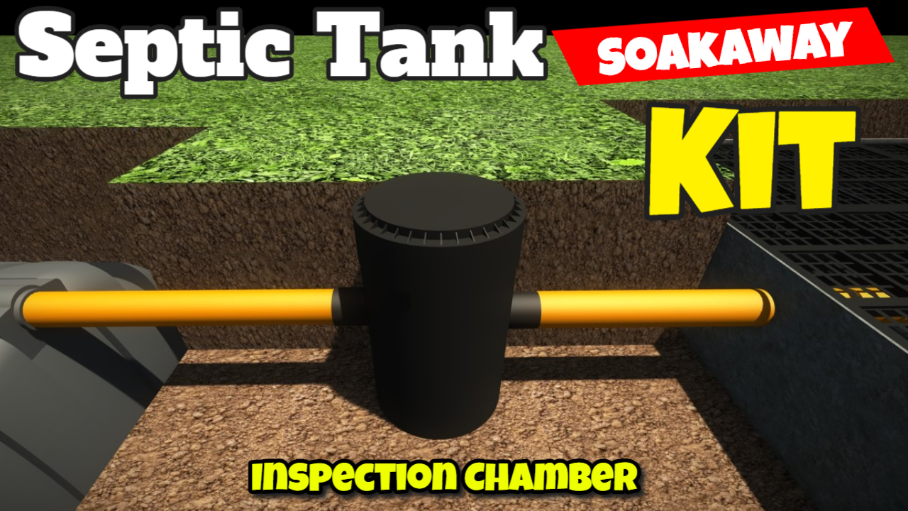 septic tank kit inspection chamber