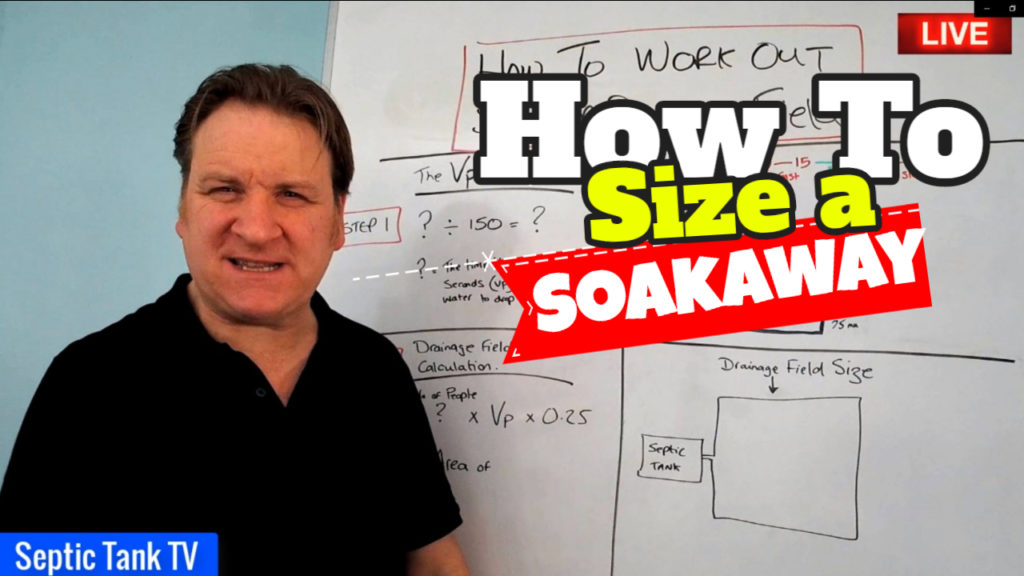 How To Size A Soakaway For A Septic Tank