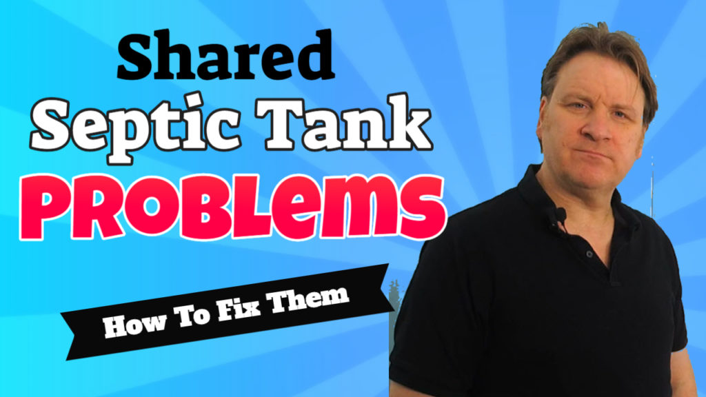 how to fix shared septic tank problems